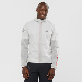 Salomon Bonatti Race Waterproof Jacket Men, white
